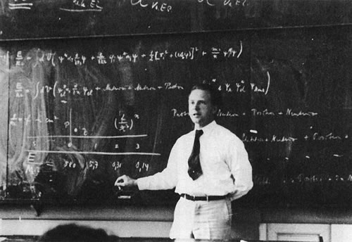 Werner Heisenberg, the mastermind behind the Nazi atomic bomb?