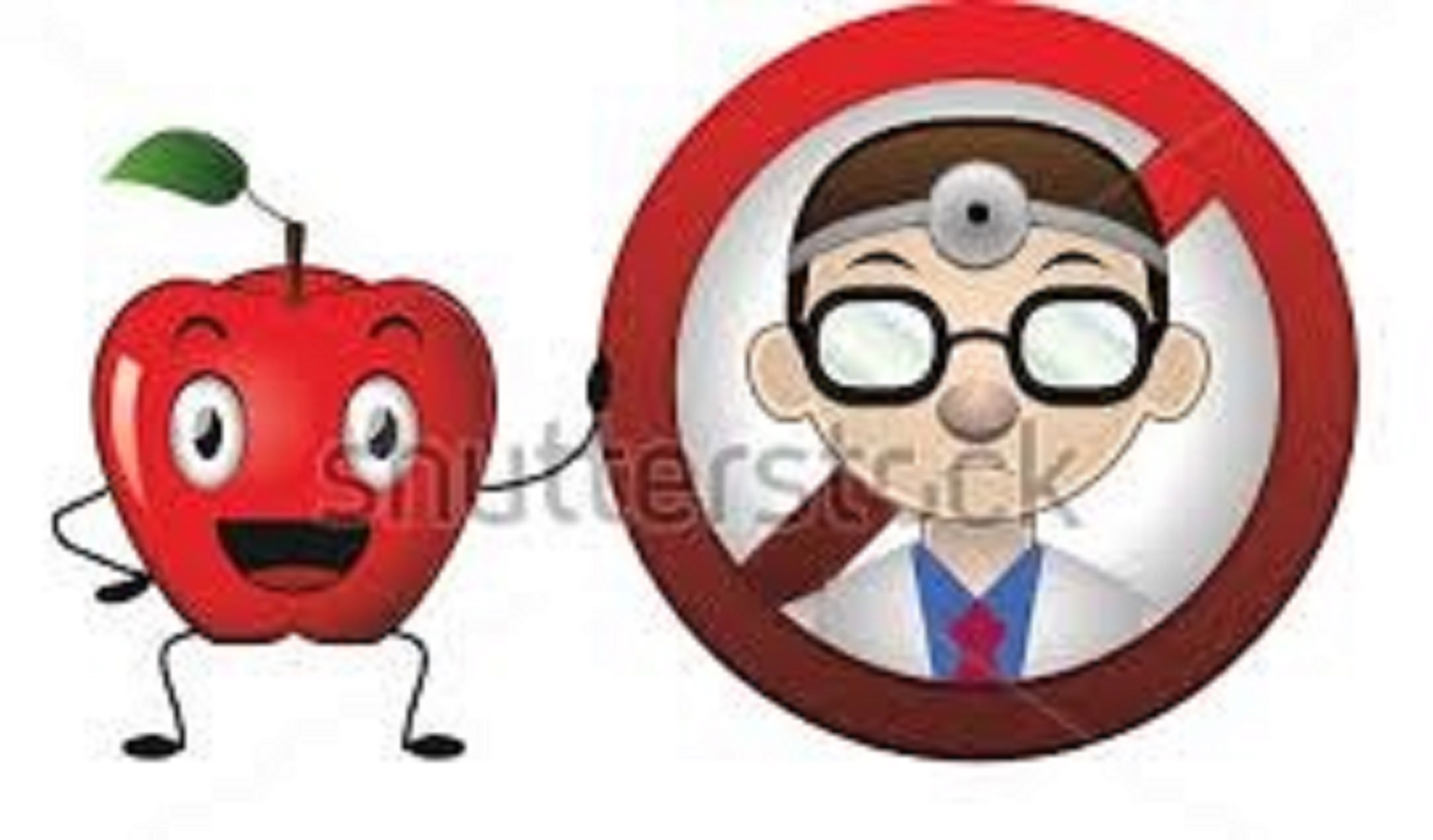 Does an apple a day keep the doctor away? Not quite!