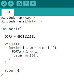 AVR Code 05