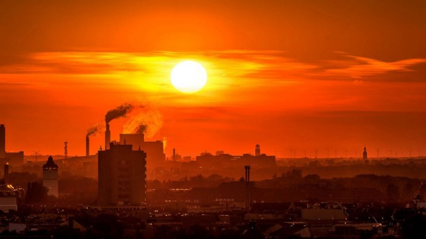 Rising heat and Carbon Dioxide levels