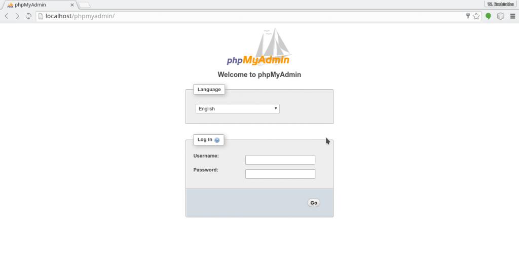 phpMyAdmin Verify