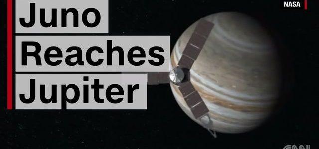 Juno reaches Jupiter
