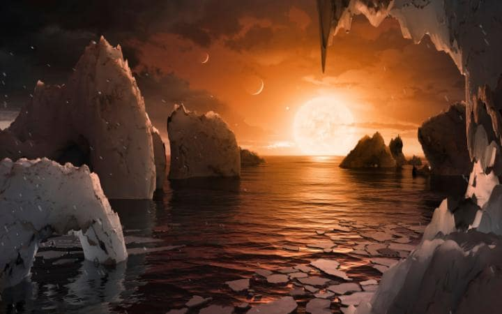 The Discovery of Exo-planets