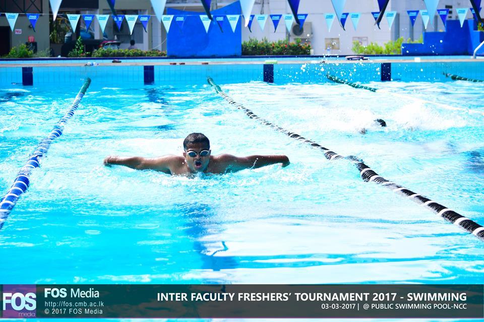 UOC Freshers' Swimming Tournament 2017