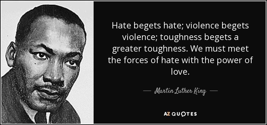 Why I dislike violence.