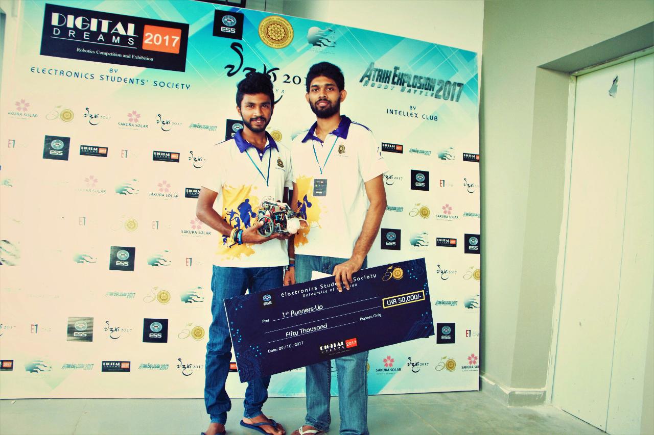 Colombo Robotics and Innovations සංගමයෙන් කොළඹ විශ්වවිද්යාලයට තවත් ජයග්රහණයක්…..