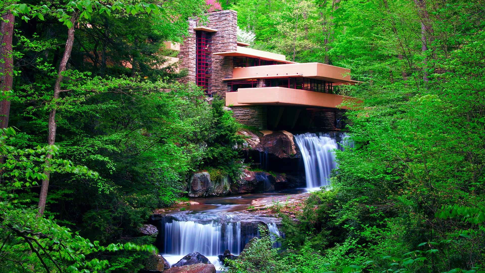 Fall in love with the Fallingwater.
