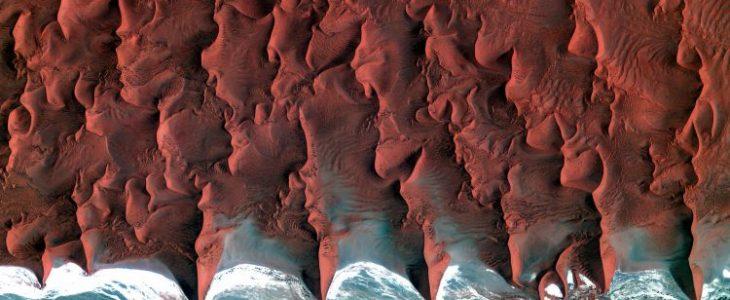 Namib ;  Where desert meets sea