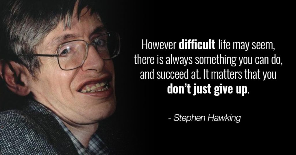 Death of Science's brightest star, Stephen Hawking