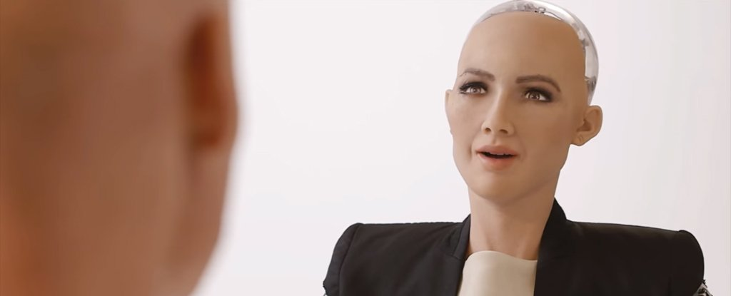 Sophia-The first robot citizen