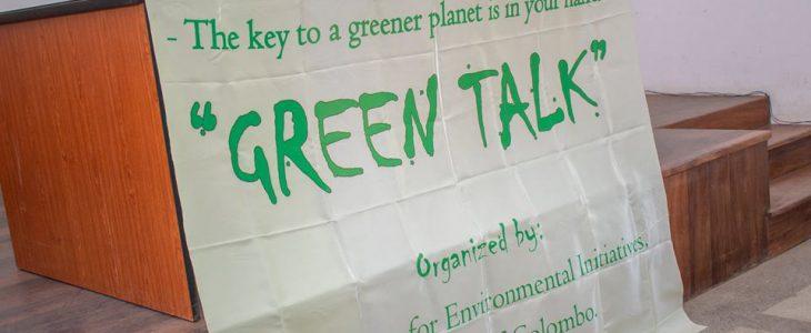 GREENER PLANET – BETTER EARTH – Green talk session 2