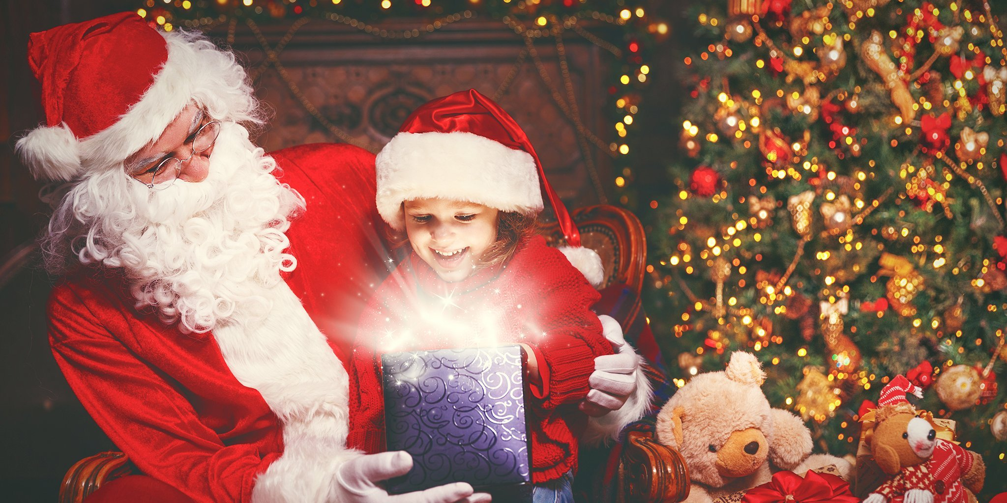 As Santa …