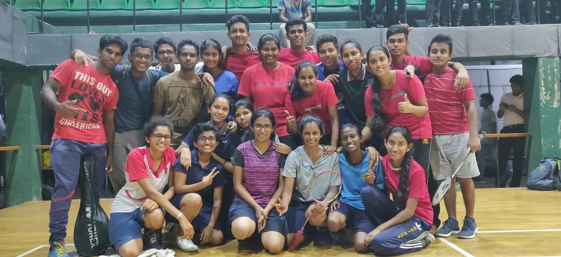 Freshers' Badminton 2019