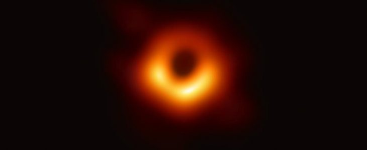 A Black Hole: Anything But Empty Space