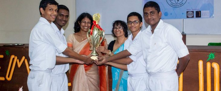 Anandians shine at CHEMSOC Quiz 2019