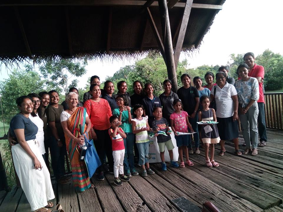 'Wet and Wild' Educational Program with Environment Science Students at Diyasaru Park