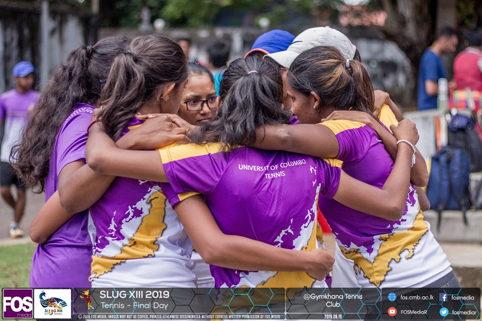 tennis team - women - uoc