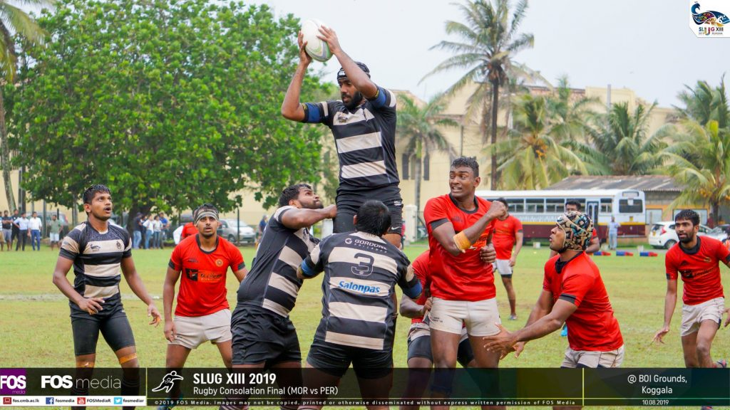 Moratuwa successfully wins a lineout
