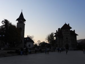 clock tower in Neamt