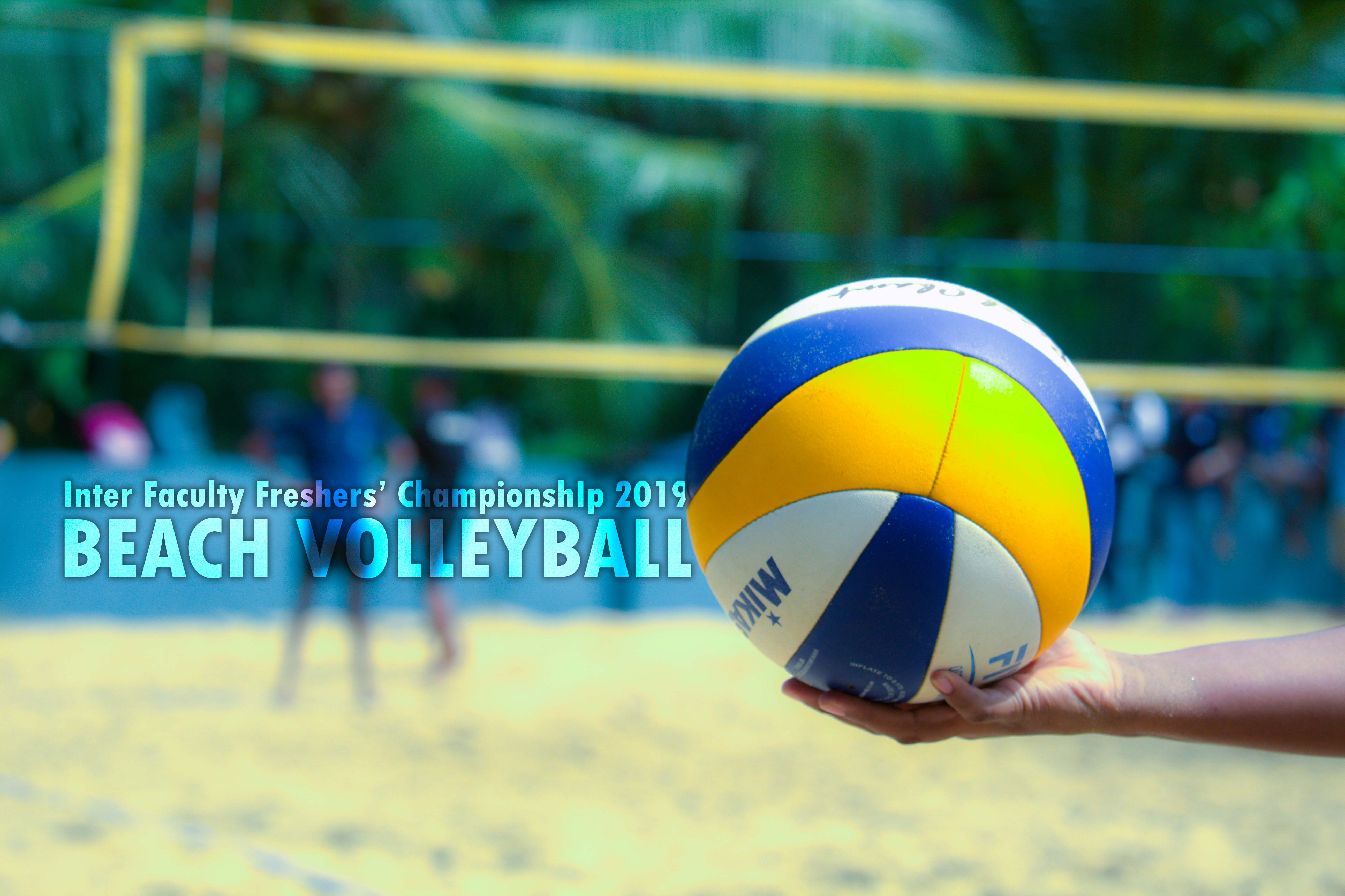 The Victory Seekers New Journey: Freshers' Beach Volleyball 2019