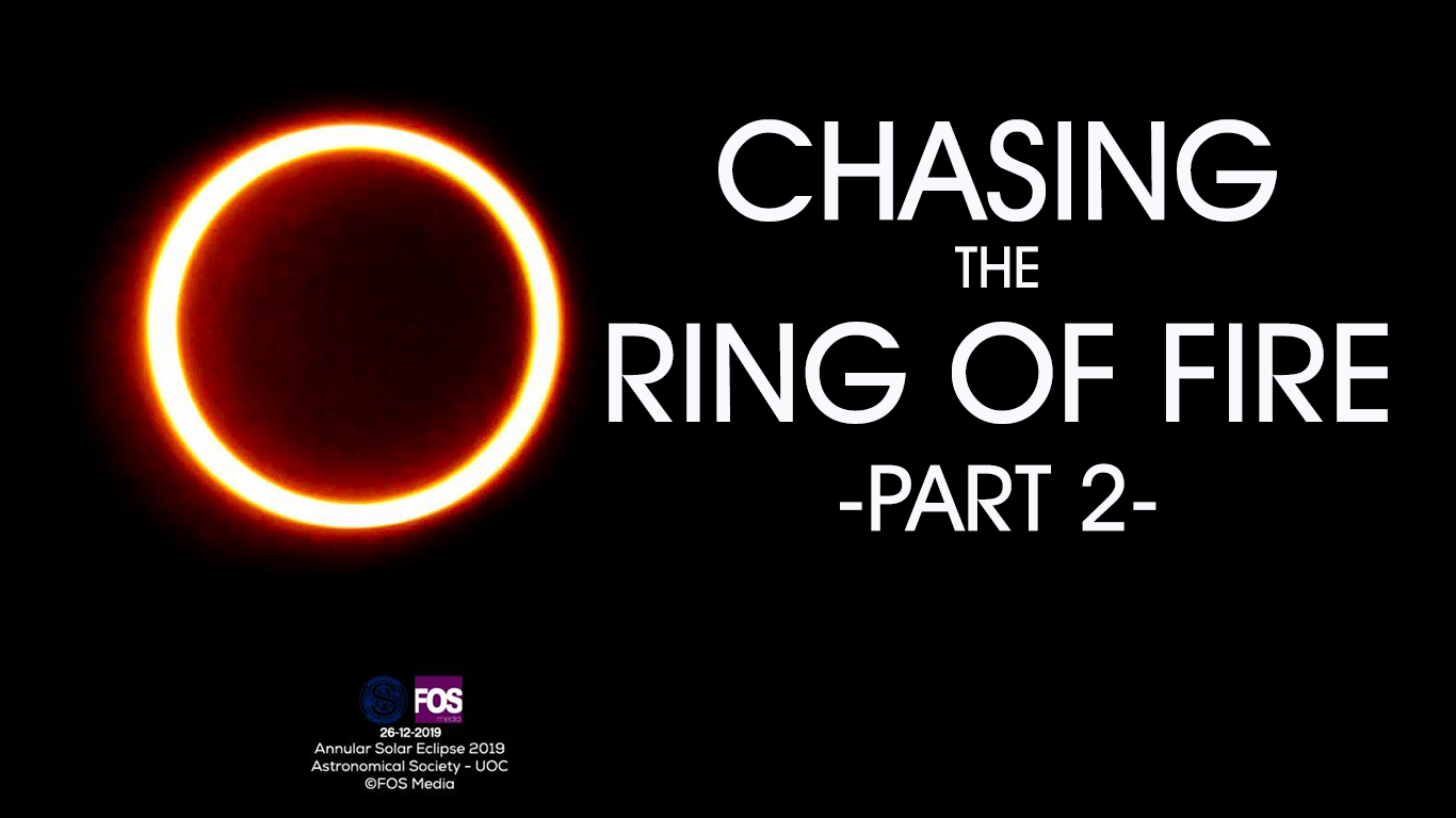 Chasing the Ring of Fire – Part 2
