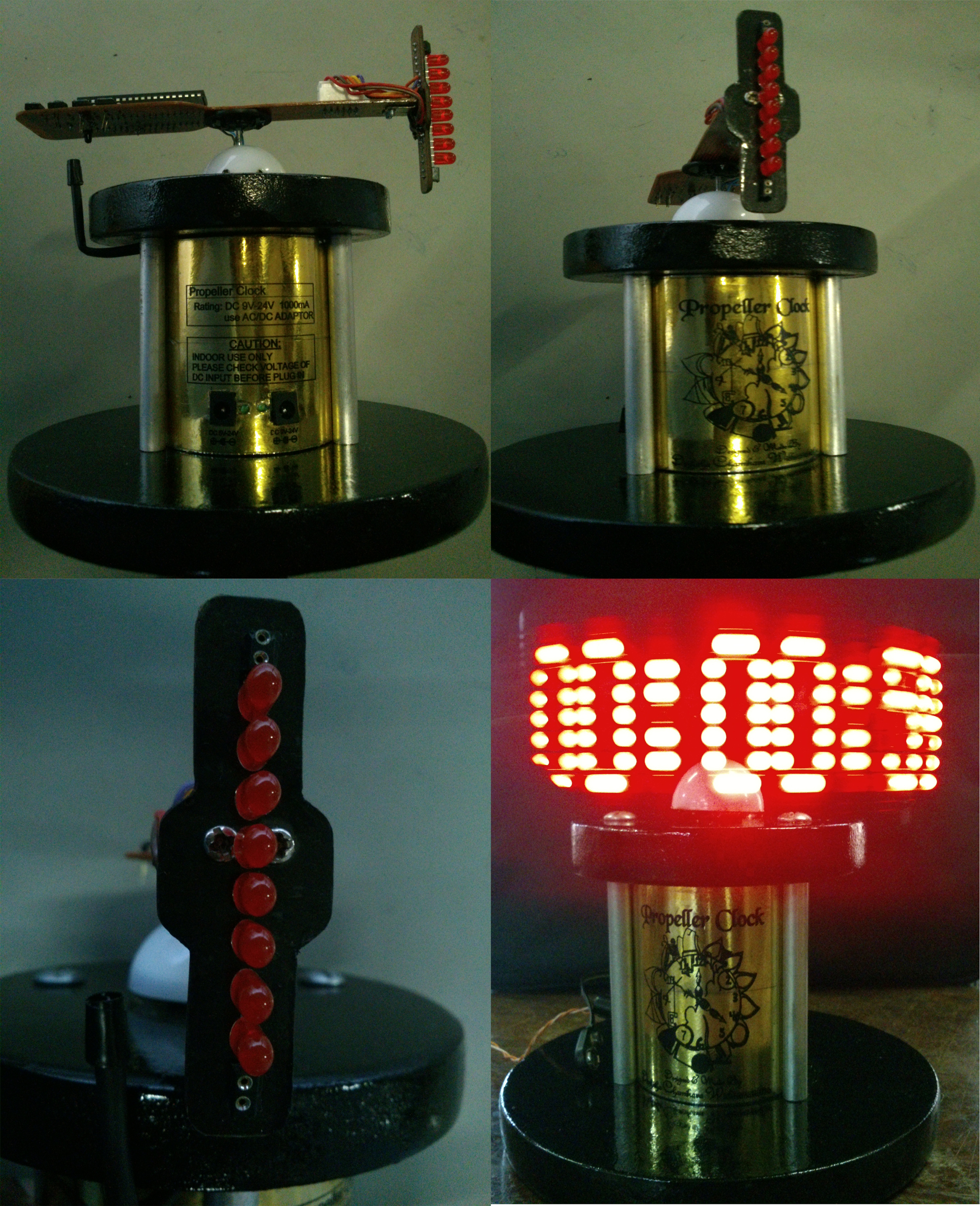Propeller Clock Embedded System Laboratory Board Build The Circuit Using Schematic On Right Final